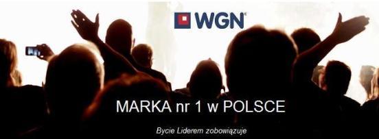 WGN - lider rynku obrotu nieruchomościami, marka nr 1 w Polsce