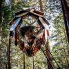 Pinecone Treehouse- nietypowy domek na drzewie