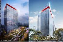 Wieżowce w Kuala Lumpur inspirowane tradycją.