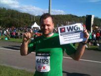 Pozdrowienia z maratonu dla Grupy WGN