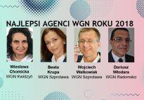 Czterech najskuteczniejszych doradców WGN roku 2018