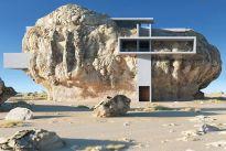Luksusowy apartament w skale