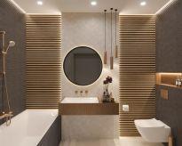 Pomysł na nowoczesną łazienkę