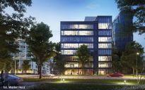 Budowa kompleksu EQ2 w Warszawie idzie zgodnie z planem.