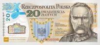 Pierwszy plastikowy polski banknot