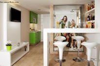 Mieszkania z aneksem kuchennym - jak oddzielić go od salonu?