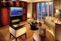 Eleganckie mieszkanie niczym przytulny apartament - czekoladowe wnętrza