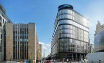 Wmurowali kamień węgielny pod biurowiec Astoria w Warszawie