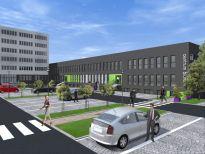 Biurowiec Tetris w Katowicach – koniec rozbudowy
