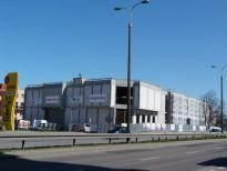 Centrum handlowe Dekada w Malborku z gotową konstrukcją