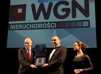 Nagroda Symbol Rozwoju Biznesu dla WGN za rok 2014